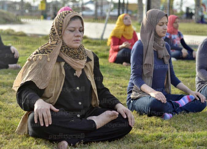 Mezinárodní den meditace v Port Saidu 2013