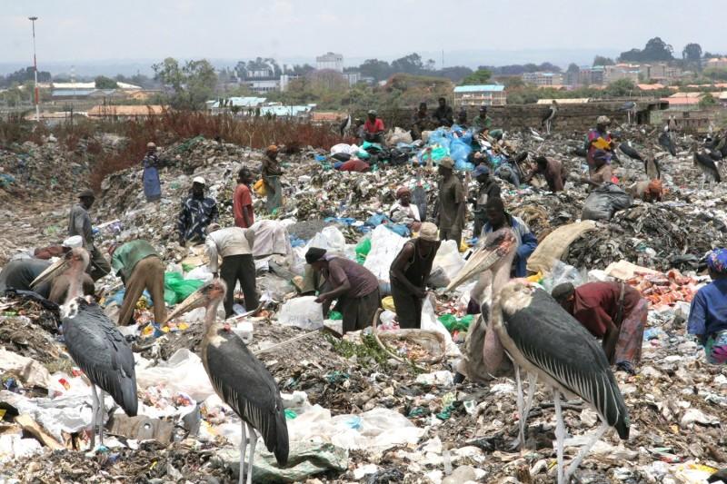 Kenya slum dump 2007