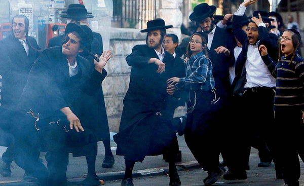 ultra-orthodox-jews-rioting-in-jerusalem