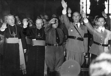 nazi and catholics