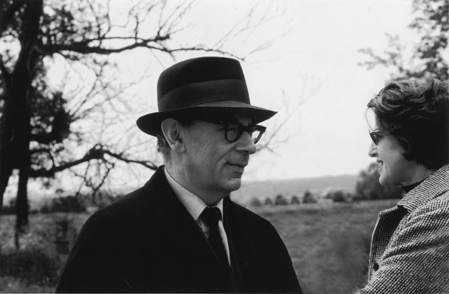 Isaiah Berlin and his wife Aline, Oxford, 1969